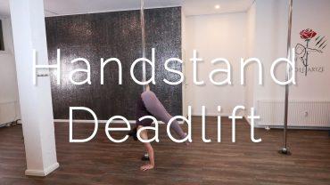Handstand Deadlift