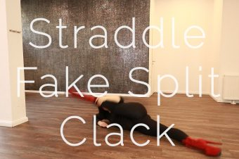 Straddle Fake Split Clack