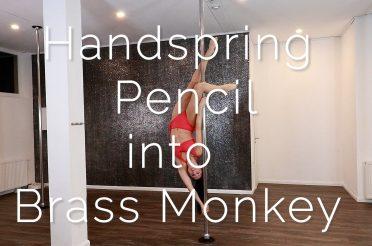 Handspring Pencil into Brass Monkey
